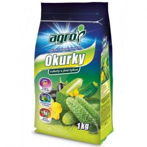 Organicko minerálne hnojivo pre uhorky, cukety, tekvice